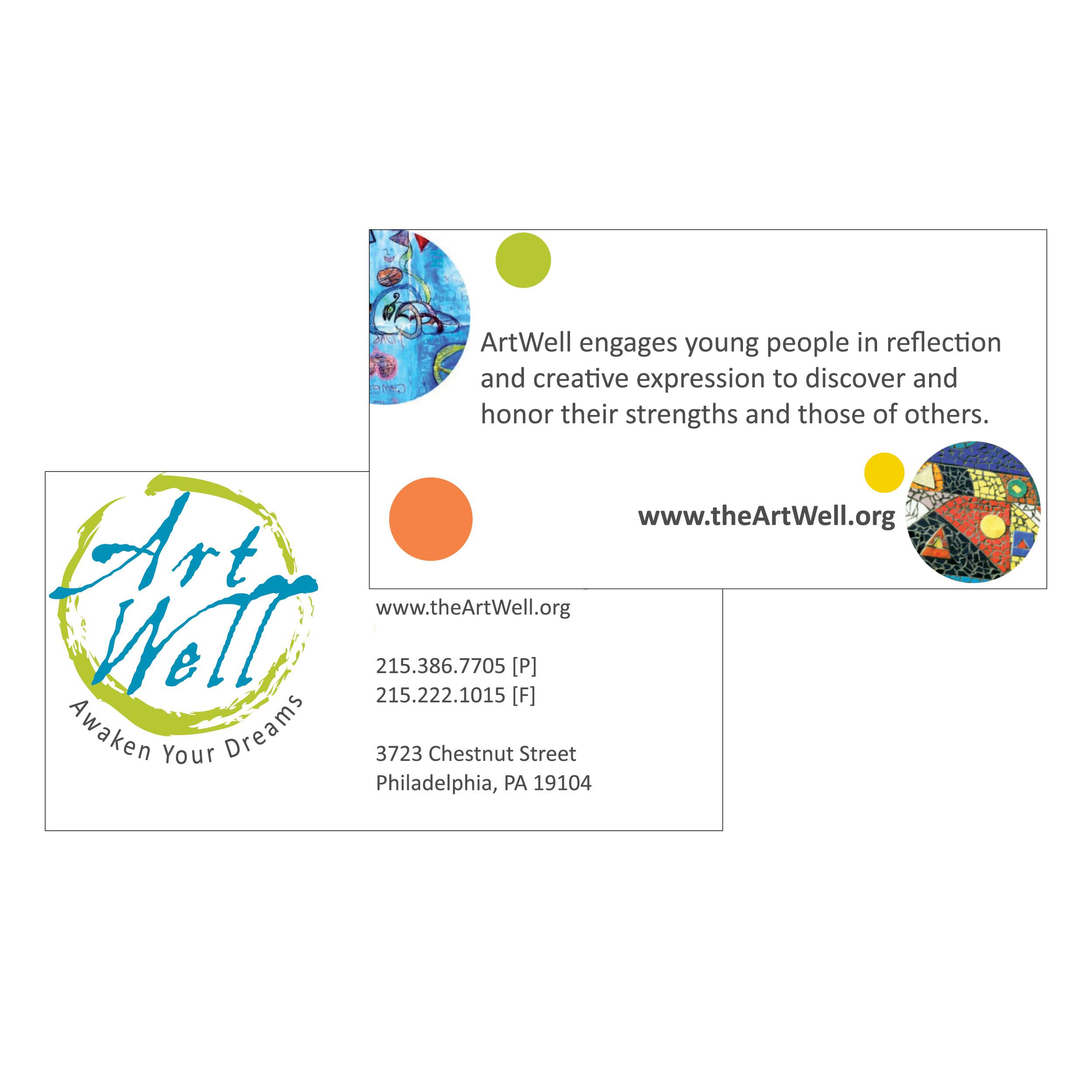 ArtWell business card