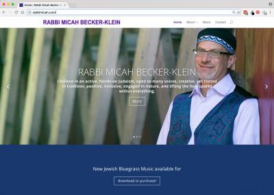 Rabbi Micah Becker-Klein