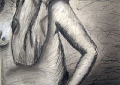 manwithcloth41x27.5_charcoal_conte