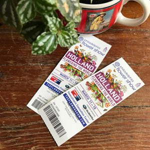 Philadelphia Flower Show 2017 tickets