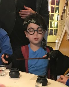 Rai the Harry Potter bday boy