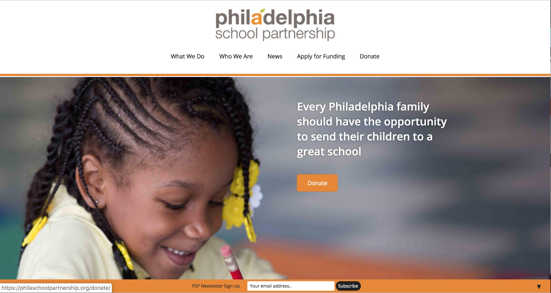 Philadelphia School Partnership